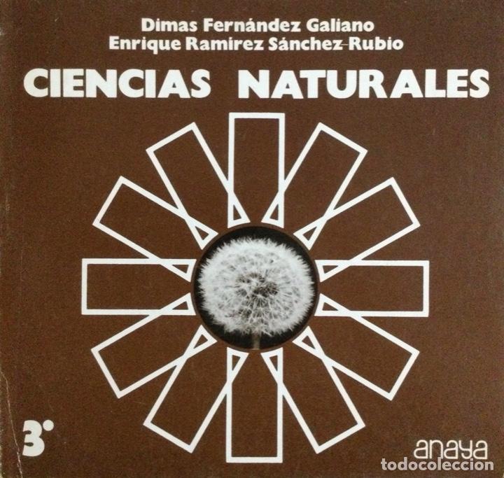 CIENCIAS NATURALES 3* BUP. ANAYA. NUEVO (Libros Nuevos - Libros de Texto - Bachillerato)
