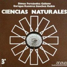Libros: CIENCIAS NATURALES 3* BUP. ANAYA. NUEVO. Lote 244490785