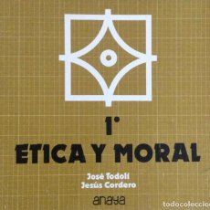 Libros: ÉTICA Y MORAL 1* BUP. ANAYA. NUEVO. Lote 244495815