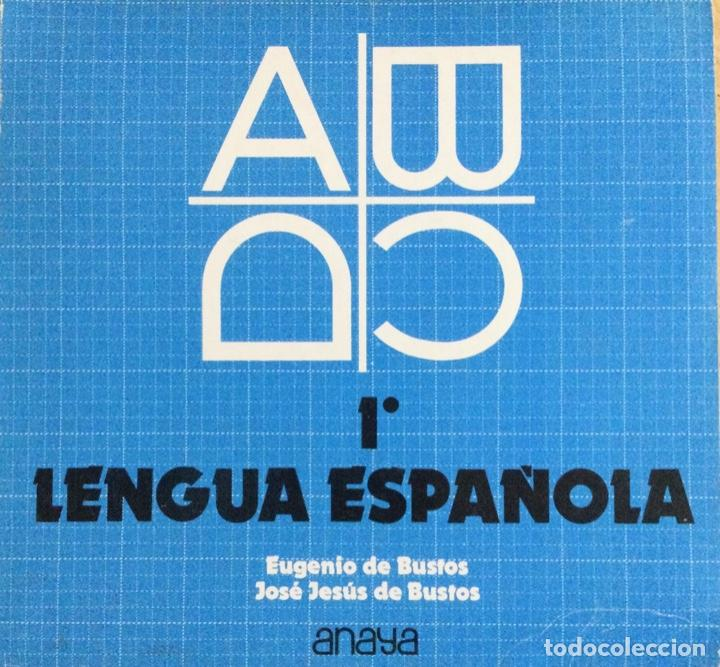 LENGUA ESPAÑOLA 1* BUP. ANAYA. NUEVO (Libros Nuevos - Libros de Texto - Bachillerato)