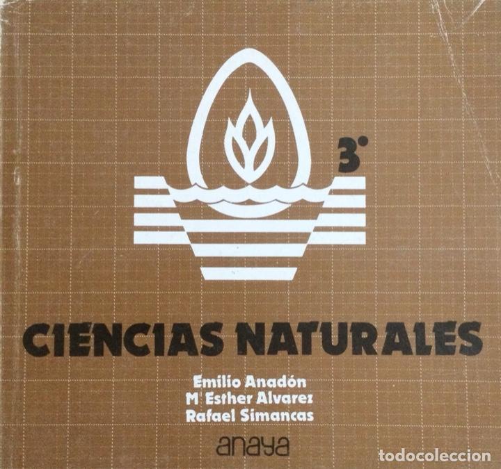 CIENCIAS NATURALES 3* BUP. ANAYA. (Libros Nuevos - Libros de Texto - Bachillerato)