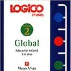 Libros: LOGICO PRIMO. GLOBAL 2. Lote 244564800