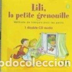 Libros: LILI, LA PETITE GRENOUILLE 1 CD. Lote 245204635