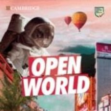 Libros: OPEN WORLD PRELIMINARY. STUDENTS BOOK PACK (SB WO ANSWERS W ONLINE PRACTICE AND WB WO ANSWERS W. Lote 245548850