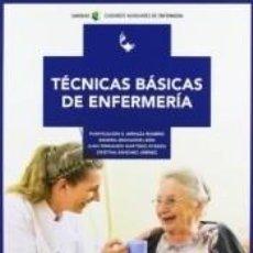 Libros: TÉCNICAS BÁSICAS DE ENFERMERÍA. Lote 245766865
