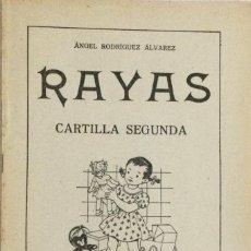 Libros: RAYAS. CARTILLA 2A. 1958. (ORIGINAL). Lote 246449220