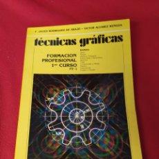 Libros: LIBRO TÉCNICAS GRÁFICAS FP1. Lote 250116920