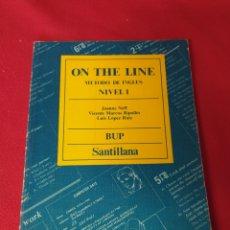 Libros: LIBRO DE INGLÉS BUP SANTILLANA. Lote 250117355