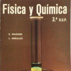 Libros: FÍSICA Y QUÍMICA 3* BUP. ECIR. NUEVO. Lote 251042700