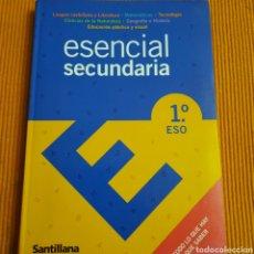 Libros: ESENCIAL SECUNDARIA 1 ESO. Lote 251281570