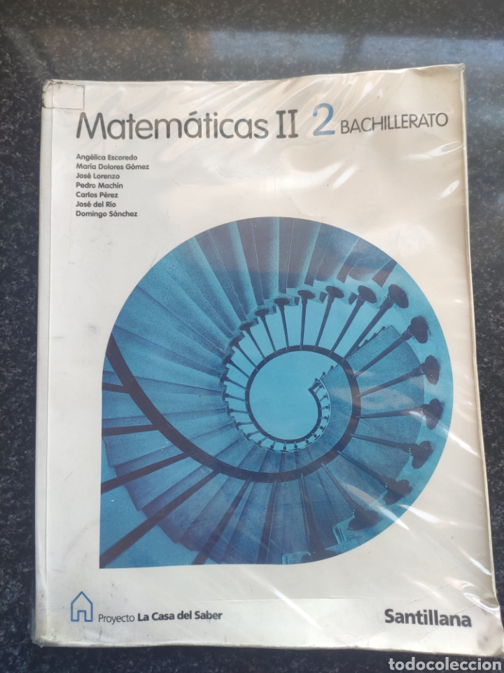 LIBRO MATEMÁTICAS 2° BACHILLERATO (Libros Nuevos - Libros de Texto - Bachillerato)