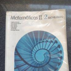 Libros: LIBRO MATEMÁTICAS 2° BACHILLERATO. Lote 252991150