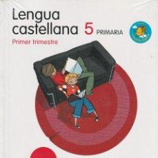 Libros: LENGUA CASTELLANA. 5 PRIMARIA. SERIE MOCHILA LIGERA. PROYECTO LA CASA DEL SABER. Lote 253245715