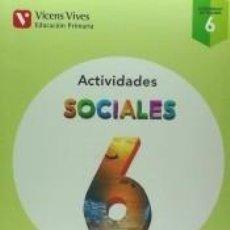 Libros: AULA ACTIVA, CIENCIAS SOCIALES, 6º PRIMARIA : CUADERNO. Lote 253658755
