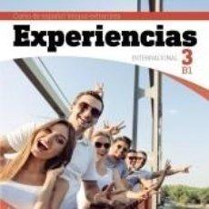 Libros: EXPERIENCIAS INTERNACIONAL B1. LIBRO DEL ALUMNO. Lote 254476805