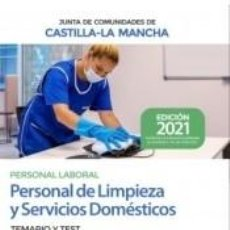 Libros: PERSONAL DE LIMPIEZA Y SERVICIOS DOMÉSTICOS. TEMARIO Y TEST. JUNTA DE CASTILLA-LA MANCHA. Lote 254526375