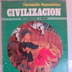 Libros: CIVILIZACION. Lote 254641805