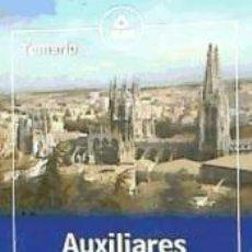 Libros: AUXILIARES ADMINISTRATIVOS DE LA DIPUTACIÓN PROVINCIAL DE BURGOS: TEMARIO. Lote 254913890