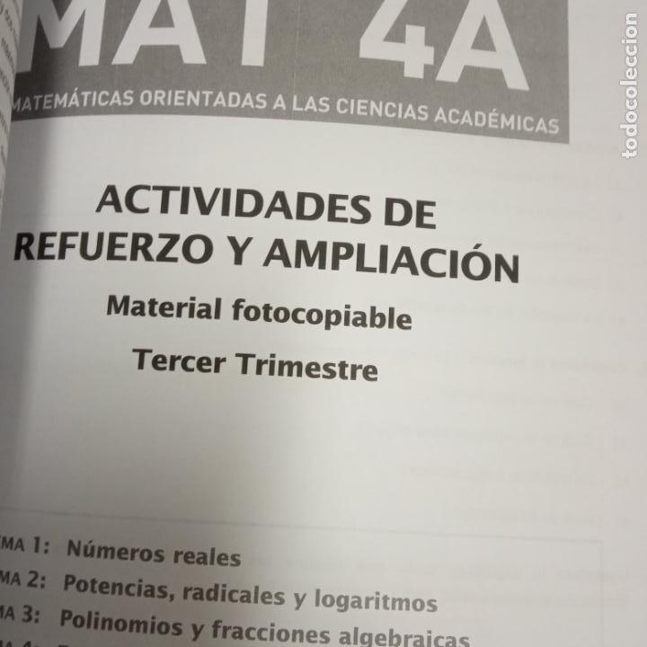Libros: matematicas orientadas a las ciencias academicas -recursos para el profesorado -vicens vives -mat 4a - Foto 2 - 258988275
