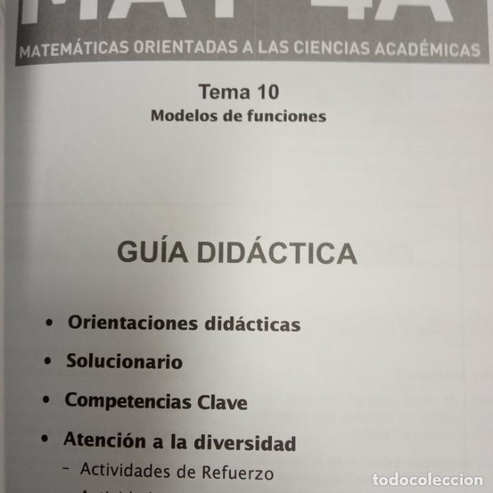 Libros: matematicas orientadas a las ciencias academicas -recursos para el profesorado -vicens vives -mat 4a - Foto 4 - 258988275
