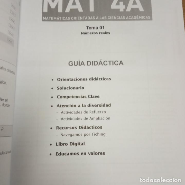 Libros: matematicas orientadas a las ciencias academicas -recursos para el profesorado -vicens vives -mat 4a - Foto 13 - 258988275