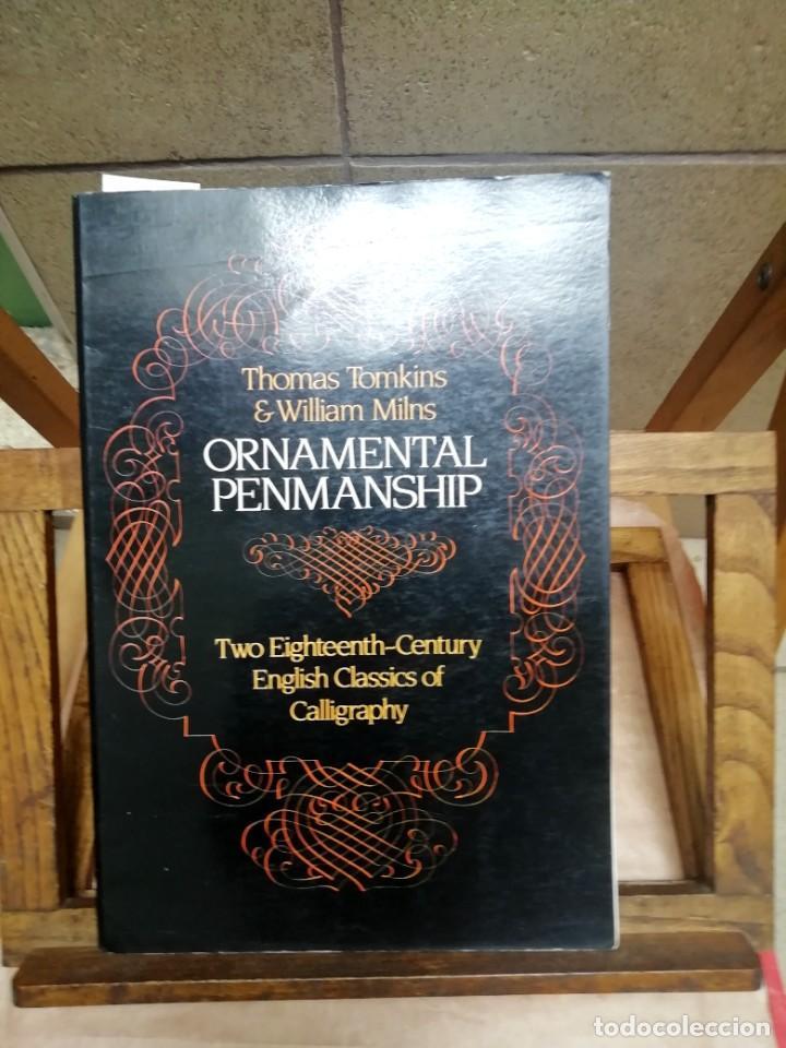 TOMKINS THOMAS & MILNS WILLIAM TWO EIGHTEENTH-CENTURY ENGLISH CLASSICS OF CALLIGRAPHY (Libros Nuevos - Libros de Texto - ESA)