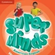 Libros: SUPER MINDS AMERICAN ENGLISH LEVEL 4 STUDENTS BOOK WITH DVD-ROM. Lote 261600500