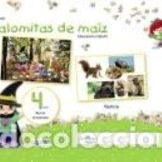 Libros: PROYECTO PALOMITAS DE MAÍZ. EDUCACIÓN INFANTIL. 4 AÑOS. TERCER TRIMESTRE. Lote 262670830