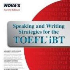 Libros: SPEAKING AND WRITING STRATEGIES FOR THE TOEFL IBT. Lote 262690595
