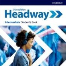 Libros: NEW HEADWAY 5TH EDITION INTERMEDIATE. STUDENTS BOOK WITH STUDENTS RESOURCE CENTER AND ONLINE. Lote 262718890