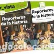 Libros: REPORTEROS DE LA HISTORIA (EL PASADO ES NOTICIA). Lote 262734955