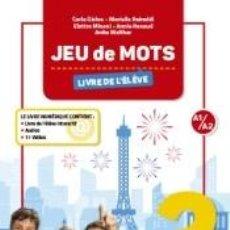 Libros: JEU DE MOTS 2 LIVRE DE LELEVE. Lote 262735110