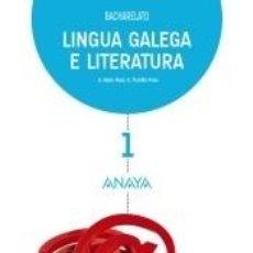 Libros: LINGUA GALEGA E LITERATURA 1. Lote 263286195