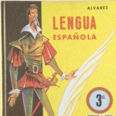 Libros: LENGUA ESPAÑOLA 3* EGB. ALVAREZ. MIÑÓN. AÑO: 1972 ORIGINAL. NUEVO. Lote 263553305