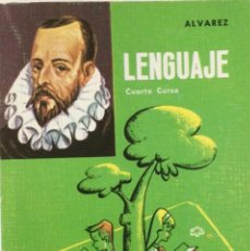 Libros: LENGUAJE 4* EGB. ALVAREZ. MIÑÓN. AÑO: 1966 ORINAL. NUEVO. Lote 263554540