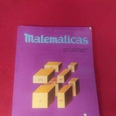 Libros: LIBRO MATEMÁTICAS 1 BUP EDELVIVES. Lote 265345984