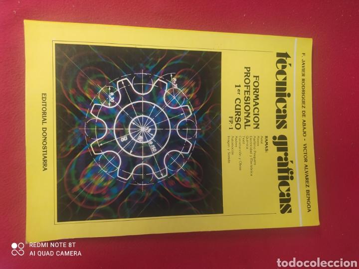 LIBRO TÉCNICAS GRÁFICAS FP1 (Libros Nuevos - Libros de Texto - Ciclos Formativos - Grado Medio)