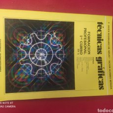 Libros: LIBRO TÉCNICAS GRÁFICAS FP1. Lote 265346804