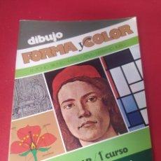Libros: LIBRO DIBUJO FORMA Y COLOR 1 BUP. Lote 265353289
