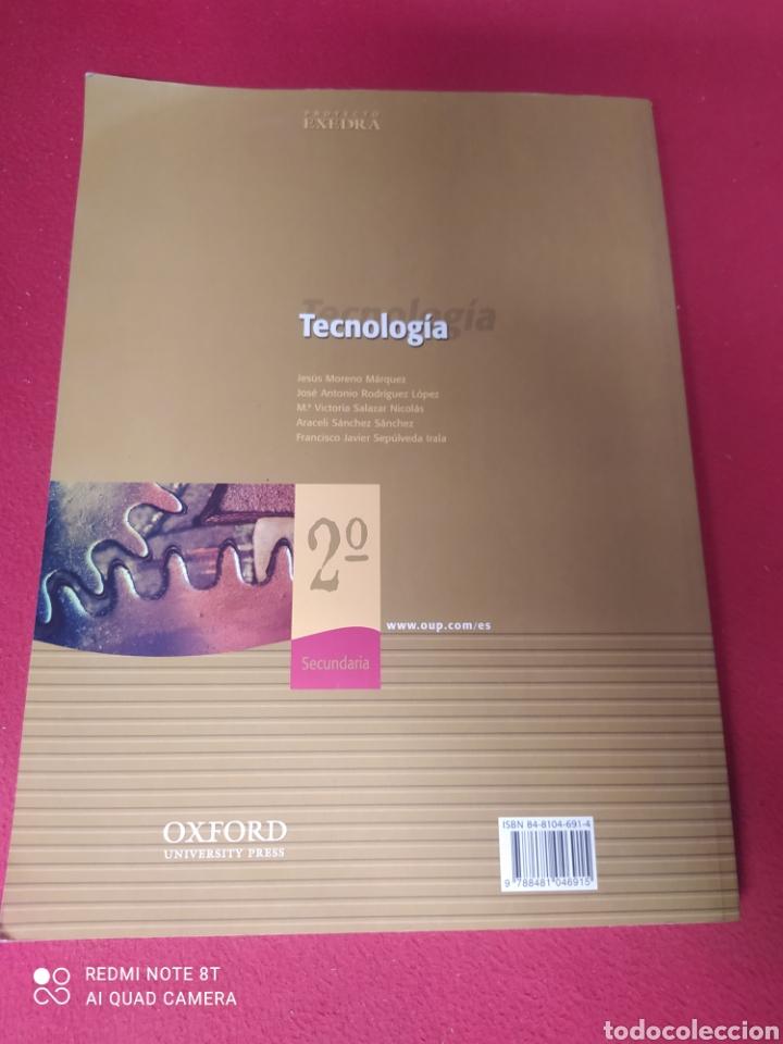 Libros: LIBRO TECNOLOGÍA 2 SECUNDARIA - Foto 2 - 265355874