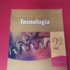 Libros: LIBRO TECNOLOGÍA 2 SECUNDARIA. Lote 265355874
