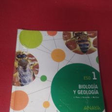 Libros: LIBRO BIOLOGÍA Y GEOLÓGICA 1 ESO ANAYA. Lote 265401469