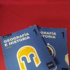 Libros: LIBROS GEOGRAFÍA E HISTORIA 1 ESO. Lote 265401689