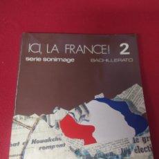 Libros: LIBRO FRANCE 2 BACHILLERATO. Lote 265402794