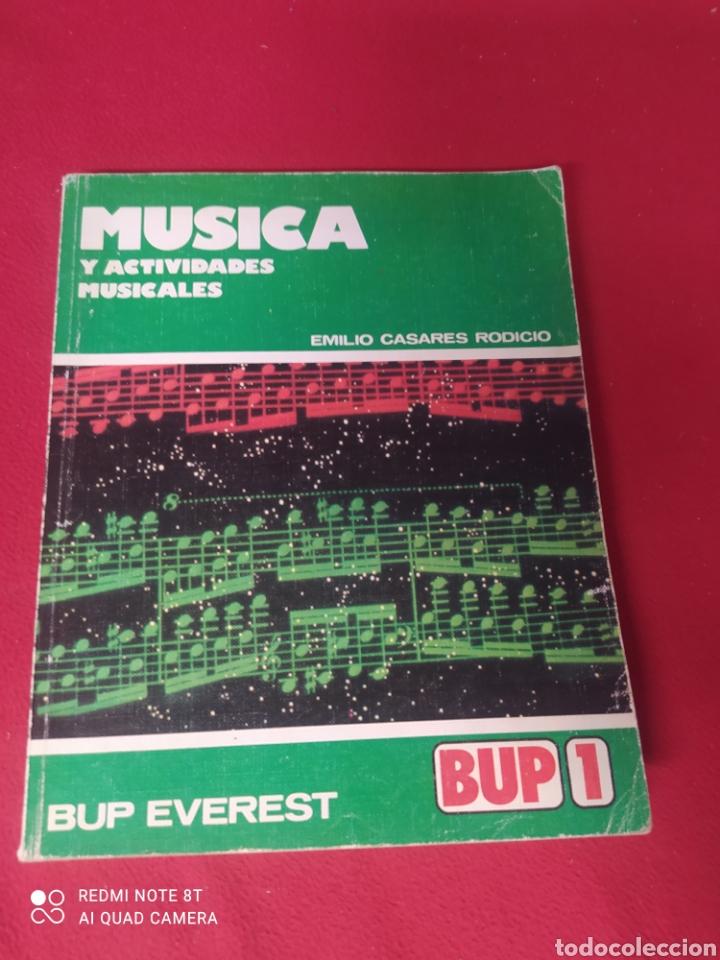 LIBRO MÚSICA 1 BUP (Libros Nuevos - Libros de Texto - Bachillerato)