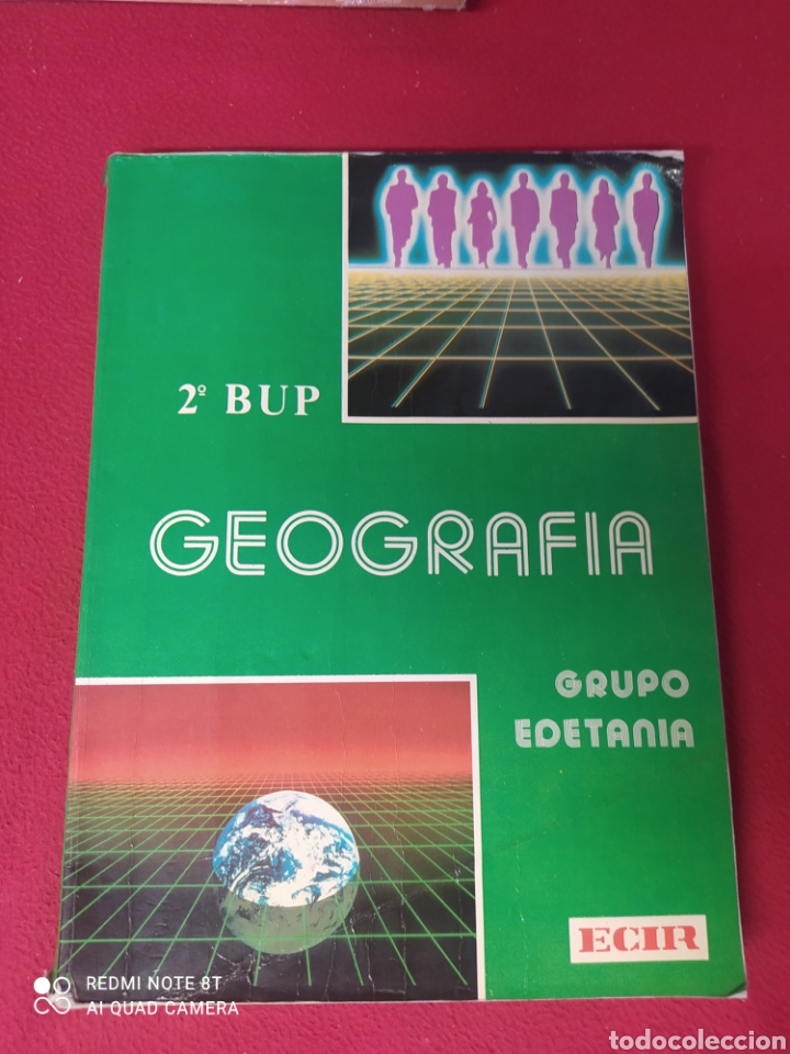 LIBRO GEOGRÁFICA 2 BUP (Libros Nuevos - Libros de Texto - Bachillerato)