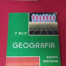 Libros: LIBRO GEOGRÁFICA 2 BUP. Lote 265404239