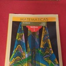 Libros: LIBRO MATEMÁTICAS 1 BACHILLERATO. Lote 265404524