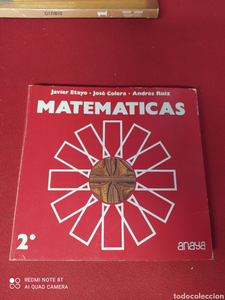 LIBRO MATEMÁTICAS 2 E.G.B. ANAYA (Libros Nuevos - Libros de Texto - Infantil y Primaria)