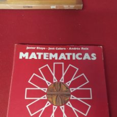 Libros: LIBRO MATEMÁTICAS 2 E.G.B. ANAYA. Lote 265405494